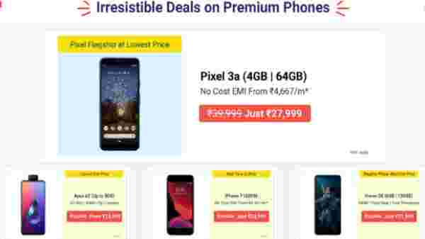 Flipkart Mobile Bonanza: Offers On Premium On Smartphones