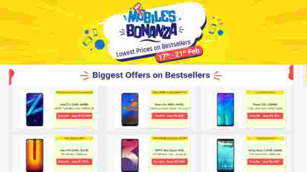 Flipkart Mobile Bonanza: Offers On Budget Smartphones