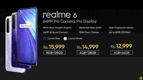 Realme 6 India Price And Offers