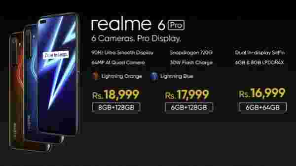 Realme 6 Pro India Price And Offers