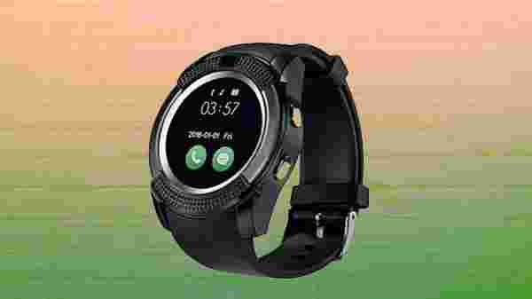 Roboster V8 Round Screen Bluetooth Support Smartwatch