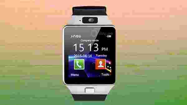 Rock DZ09 Silver color Android Smartwatch