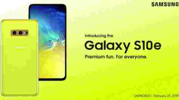 19% Off On Samsung Galaxy S10e