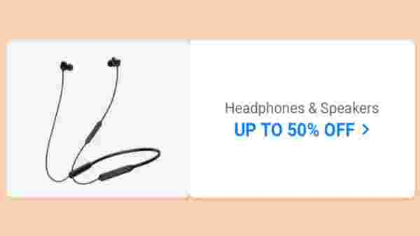 Up to 50% Off On Headphones And Speakers