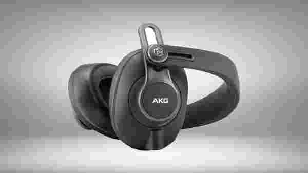 AKG K371-BT wireless studio headphones