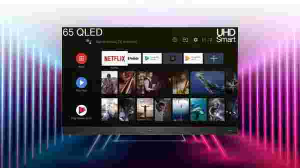 iFFALCON by TCL V2A 163.83cm (65 inch) Ultra HD (4K) QLED Smart Android TV