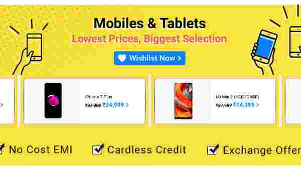 Offers On Mobiles And Tablets
