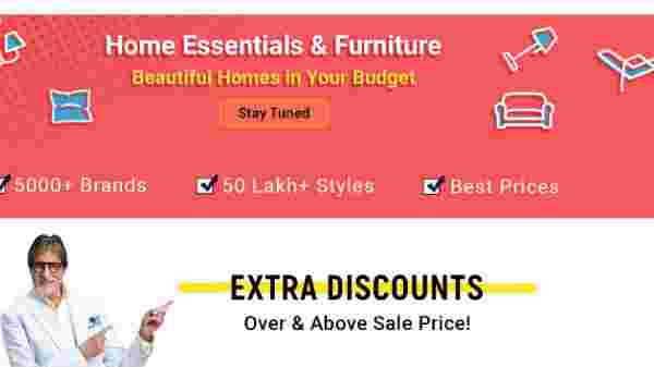 Special Offers On Home Essentials And Furniture