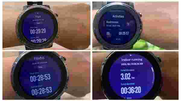 Amazfit Stratos 3 Sports: So Many Choices