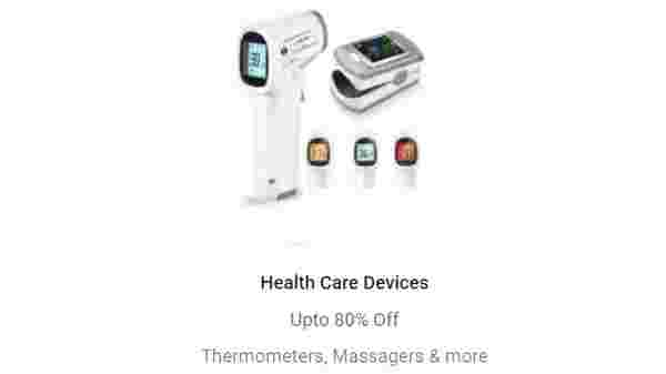 Up to 80% Off On Health Care Devices