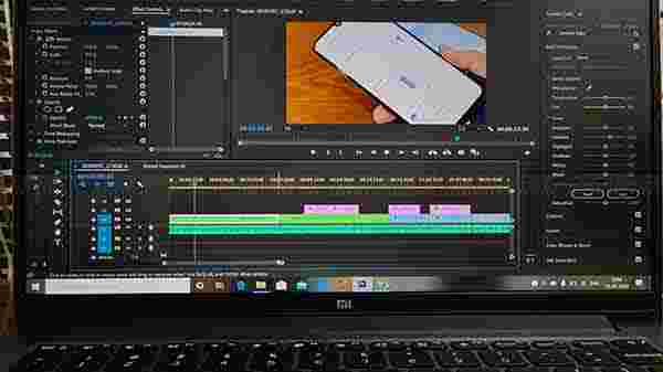Mi Notebook 14 Horizon Editing As A Video Editing Machine