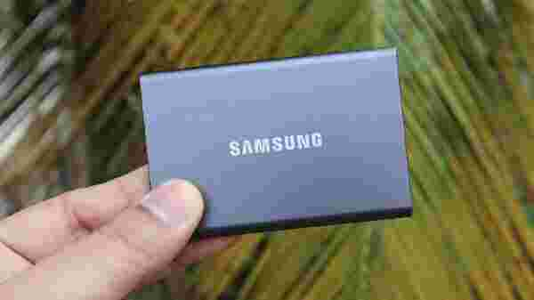 Samsung T7 Portable SSD, 870 QVO SSD