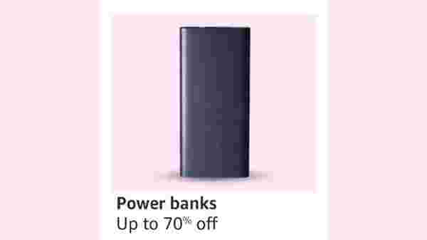 Up To 70% Off On Power Banks