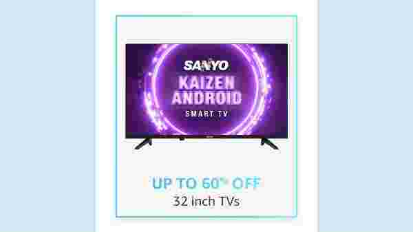 Up To 60% Off On 32inch TVs