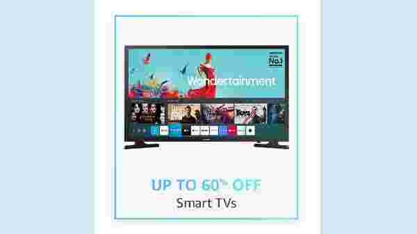 Up To 60% Off On Smart TVs