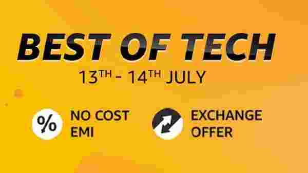 Amazon Hosts Best Of Tech (July 13 To 14)