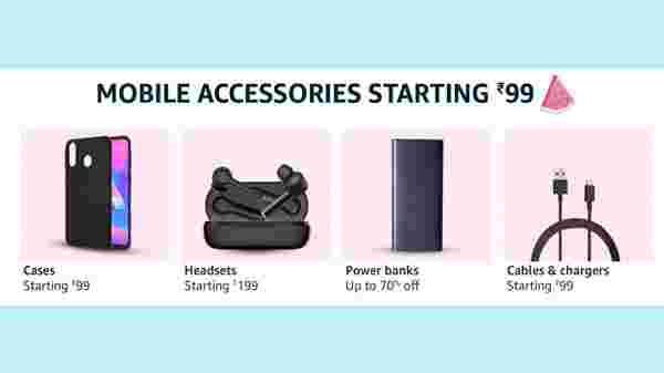 Mobile Accessories Starting Rs. 99