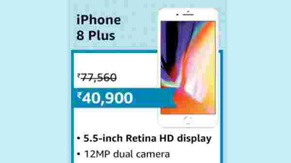 Up to Rs 10,000 Off On Apple with Great Offers On iPhone 11, iPhone 8 Plus