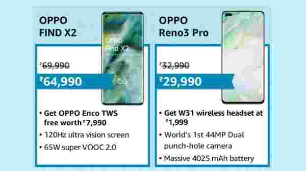 Up to Rs. 14,000 Off On OPPO Smartphones And No Cost EMI Up to 9 Months