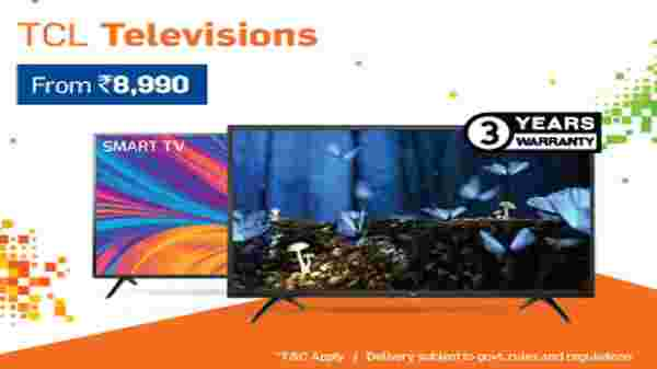 Up to 60% Off On TVs