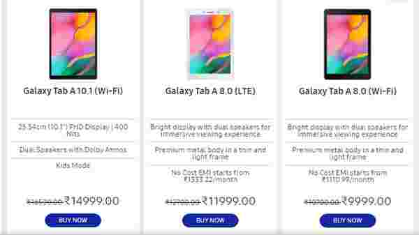 Discount And EMI, Exchange Offers On Tablets