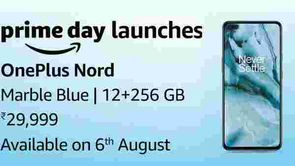OnePlus Nord Sales Starts On 6th August