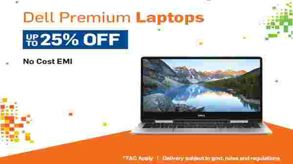 Up to 25% Off On Laptops