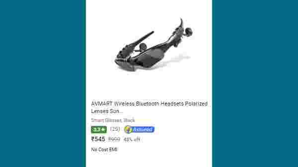 45% Off On AVMART Wireless Bluetooth Headsets Polarized Lenses Sunglasses V4.1 Stereo Handfree