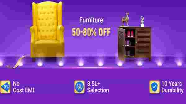 50% To 80% Off On Furniture