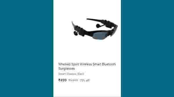 75% Off On Whelked Sport Wireless Smart Bluetooth Sunglasses