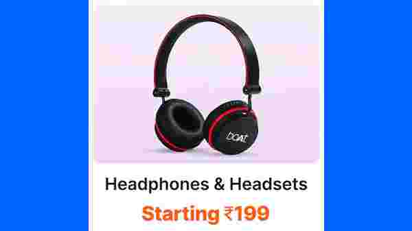 Headphones and Headsets Starting From Rs. 199