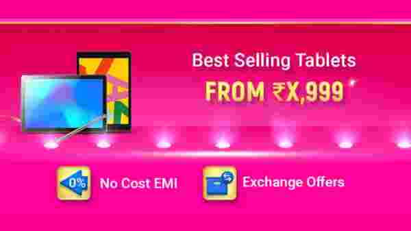 Offers On Best Selling Tablets