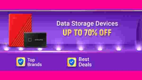 Up To 60% Off On Data Storage