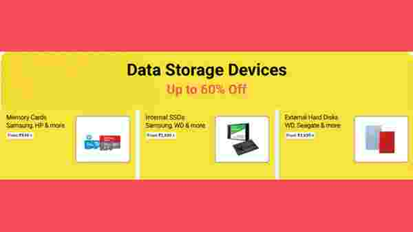 Up To 60% Off On Data Storage Devices