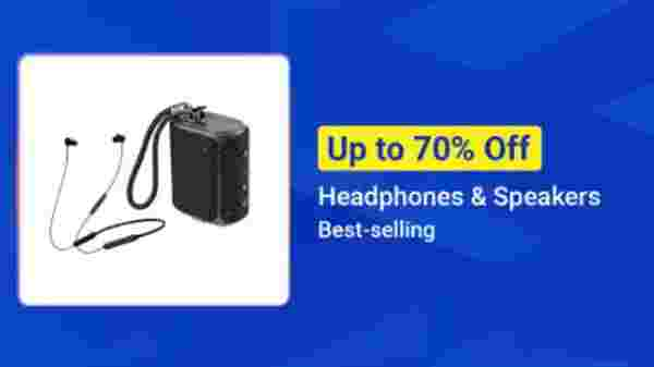 Up To 70% Off On Headphones And Speakers