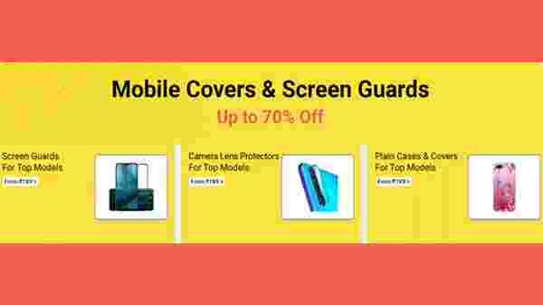 Up To 70% Off On Mobile Covers And Screen Guards