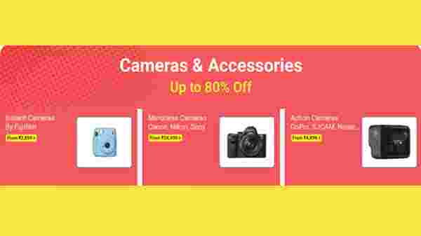 Up To 80% Off On Camera And Accessories