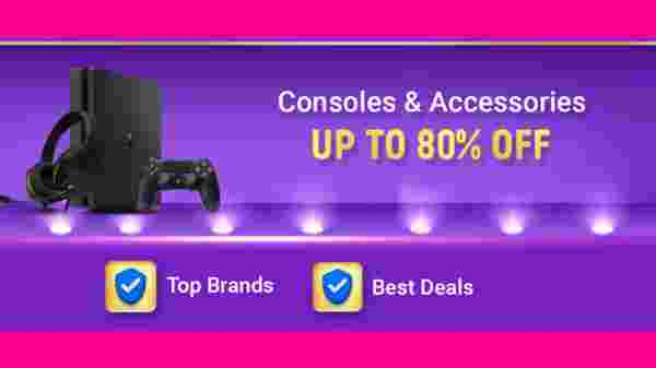 Up To 80% Off On Gaming Consoles