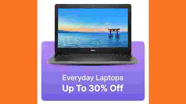 Up to 30% Off On Everyday Use Laptops