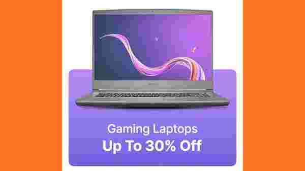 Up to 30% Off On Gaming Laptops