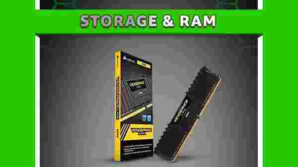 Up To 60% Off On Storage & RAM