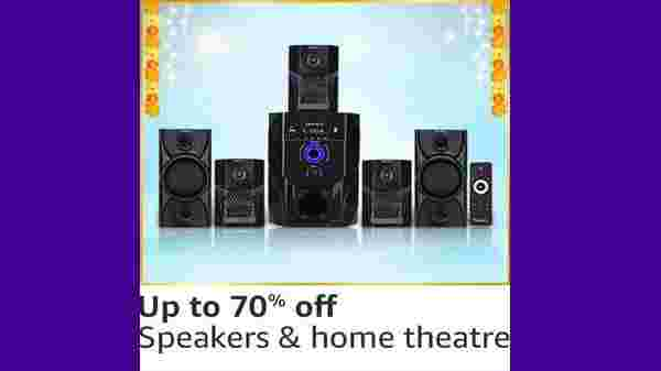 Up to 70% Off On Speakers & Home Theaters