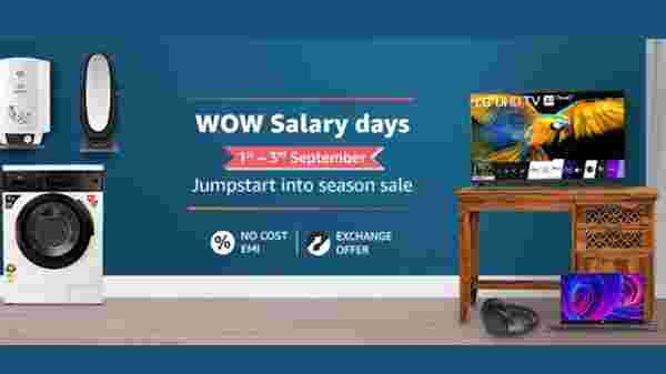 Amazon WoW Salary Days Sale September