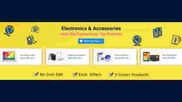 Discount On Electronics And Accessories