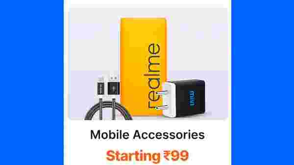 Mobile Accessories Starting From Rs. 99