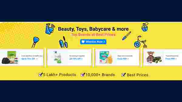 Offers On Beauty, Toys, Baby Care And More