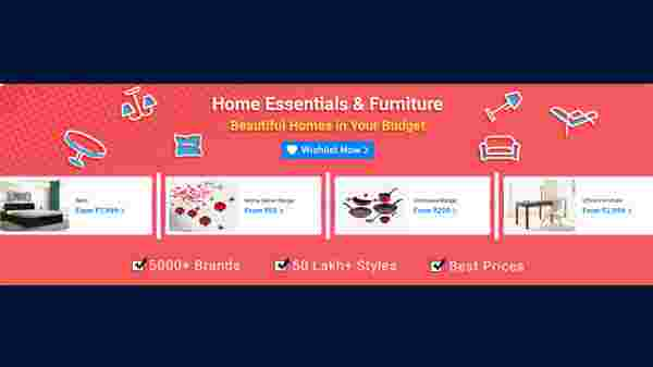 Offers On Home Essentials And Furniture
