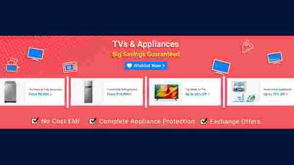 Special Offer On TVs And Appliances