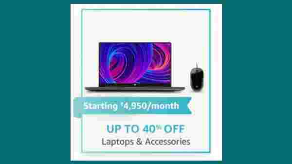 Up To 40% Off On Laptops And Accessories