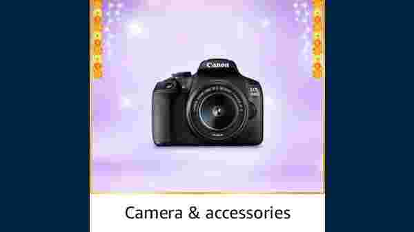 Up To 50% Off On Cameras And Accessories